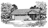 Plan Number 91265 - 321 Square Feet