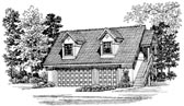 Plan Number 91266 - 690 Square Feet