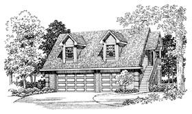 Garage Plan 91268 Elevation