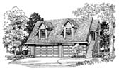 Plan Number 91268 - 690 Square Feet