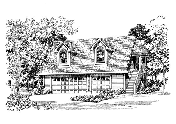 Garage Plan 91269 Elevation
