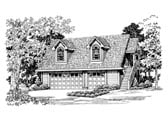 Plan Number 91269 - 690 Square Feet