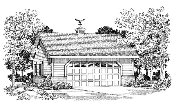 Garage Plan 91271 Elevation