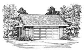 Garage Plan 91272 | Style Plan, 2 Car Garage Elevation