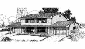 Plan Number 91328 - 2112 Square Feet