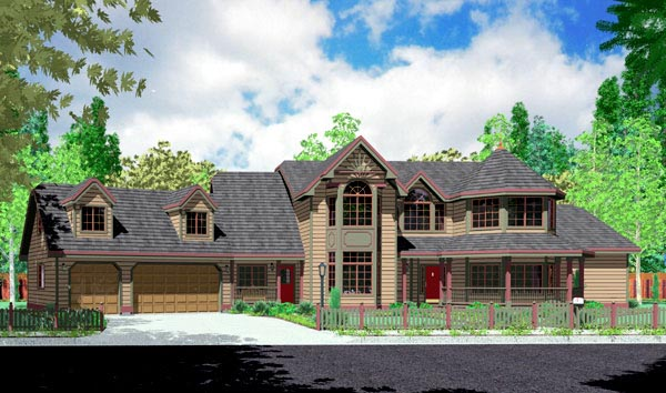 Traditional House Plan 91339 Elevation