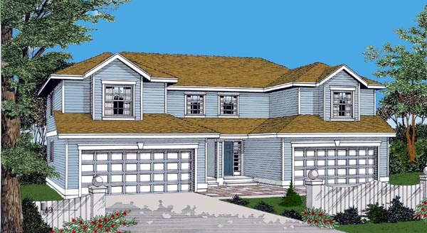 Traditional House Plan 91600 Elevation
