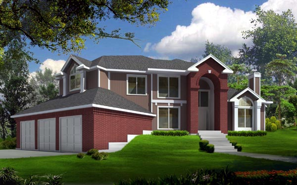 Traditional House Plan 91602 Elevation