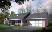Plan Number 91605 - 1636 Square Feet