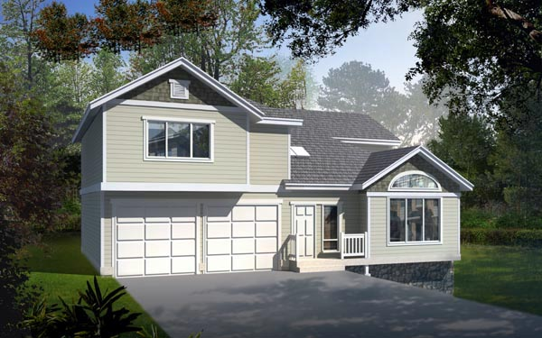 Traditional House Plan 91606 Elevation