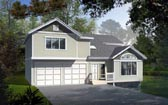Plan Number 91606 - 1831 Square Feet