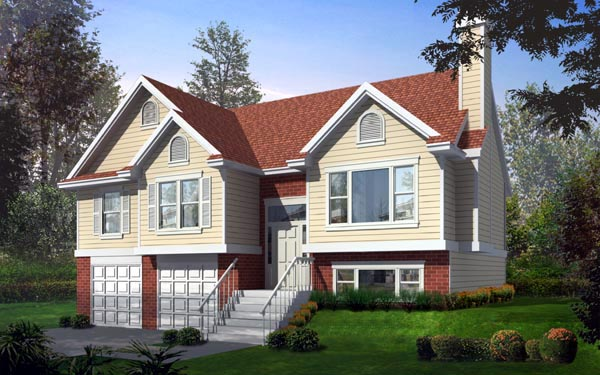 Traditional House Plan 91635 Elevation