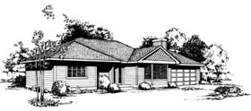 Ranch Traditional House Plan 91646 Elevation