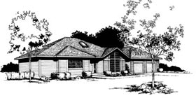 Contemporary House Plan 91653 Elevation
