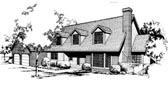Plan Number 91661 - 2455 Square Feet