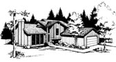 Plan Number 91664 - 1757 Square Feet