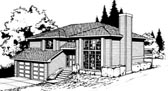 Plan Number 91671 - 1701 Square Feet