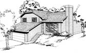 Plan Number 91677 - 1112 Square Feet