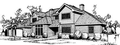 Traditional House Plan 91679 Elevation