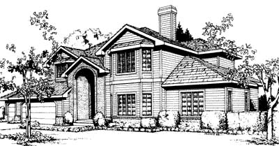 Traditional House Plan 91681 Elevation