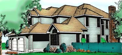Traditional House Plan 91682 Elevation