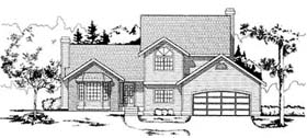 Plan Number 91683 - 1897 Square Feet