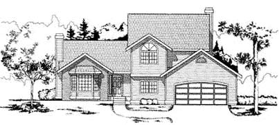 Traditional House Plan 91683 Elevation