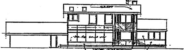 Ranch House Plan 91706 Rear Elevation