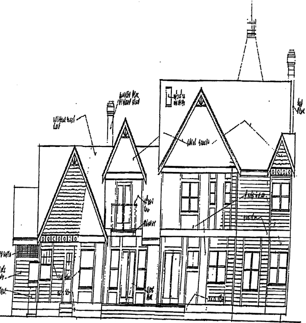 Victorian House Plan 91724 Rear Elevation