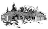 Plan Number 91732 - 3453 Square Feet