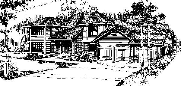 Ranch Southwest House Plan 91734 Elevation