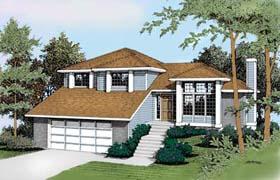Southwest House Plan 91805 Elevation