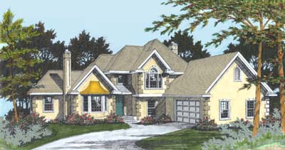 Mediterranean House Plan 91806 Elevation