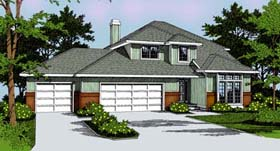 Traditional House Plan 91813 Elevation