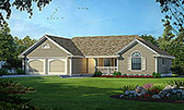 Plan Number 91832 - 1288 Square Feet