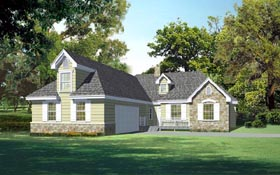 Craftsman Traditional House Plan 91875 Elevation