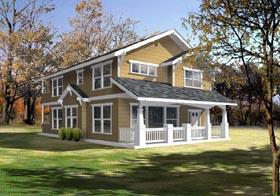 Bungalow Craftsman House Plan 91876 Elevation