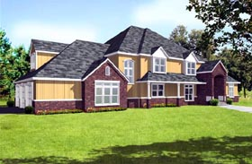 Traditional House Plan 91877 Elevation