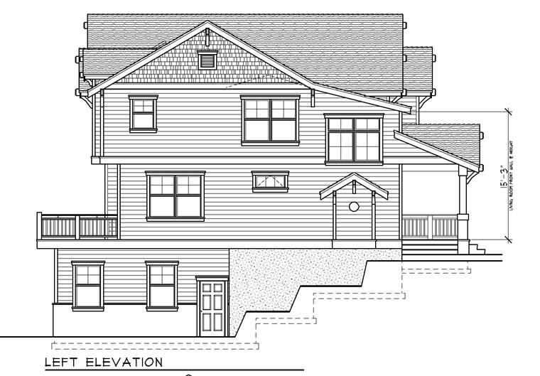 Bungalow, Craftsman House Plan 91885 with 5 Beds, 3 Baths, 4 Car Garage Picture 1