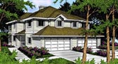 Plan Number 91888 - 2788 Square Feet