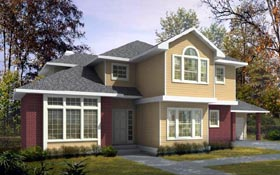 Traditional House Plan 91889 Elevation
