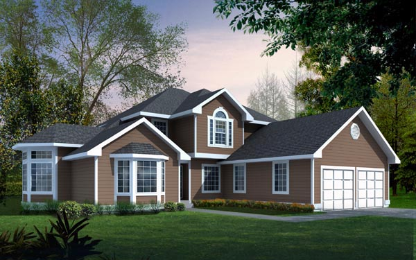 Traditional House Plan 91893 Elevation