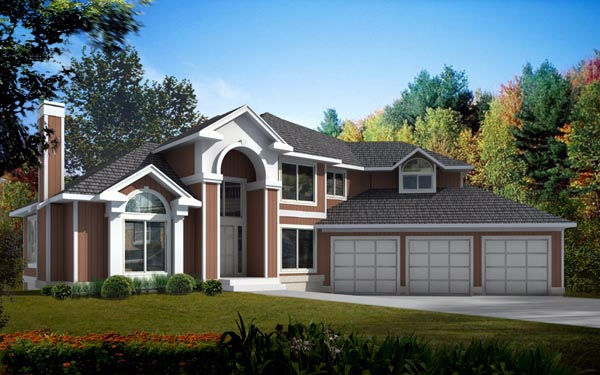Mediterranean Traditional House Plan 91896 Elevation