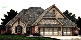 Country European House Plan 92206 Elevation