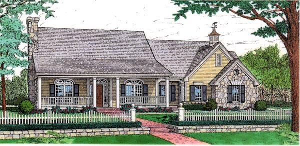 Country House Plan 92220 Elevation