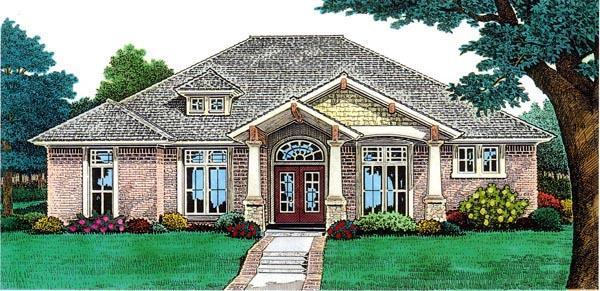 Bungalow House Plan 92227 Elevation