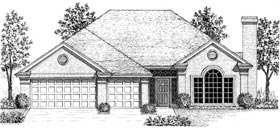 Traditional , European House Plan 92266 with 3 Beds, 3 Baths Elevation