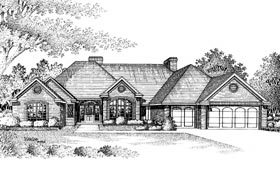 Plan Number 92273 - 3254 Square Feet