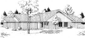Plan Number 92296 - 2085 Square Feet