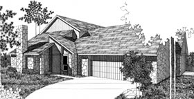 Plan Number 92299 - 2604 Square Feet